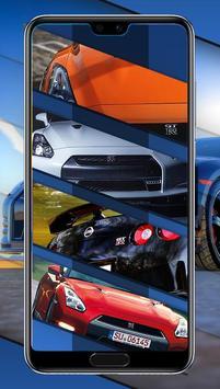 GTR Super Car Smart Wallpaper poster