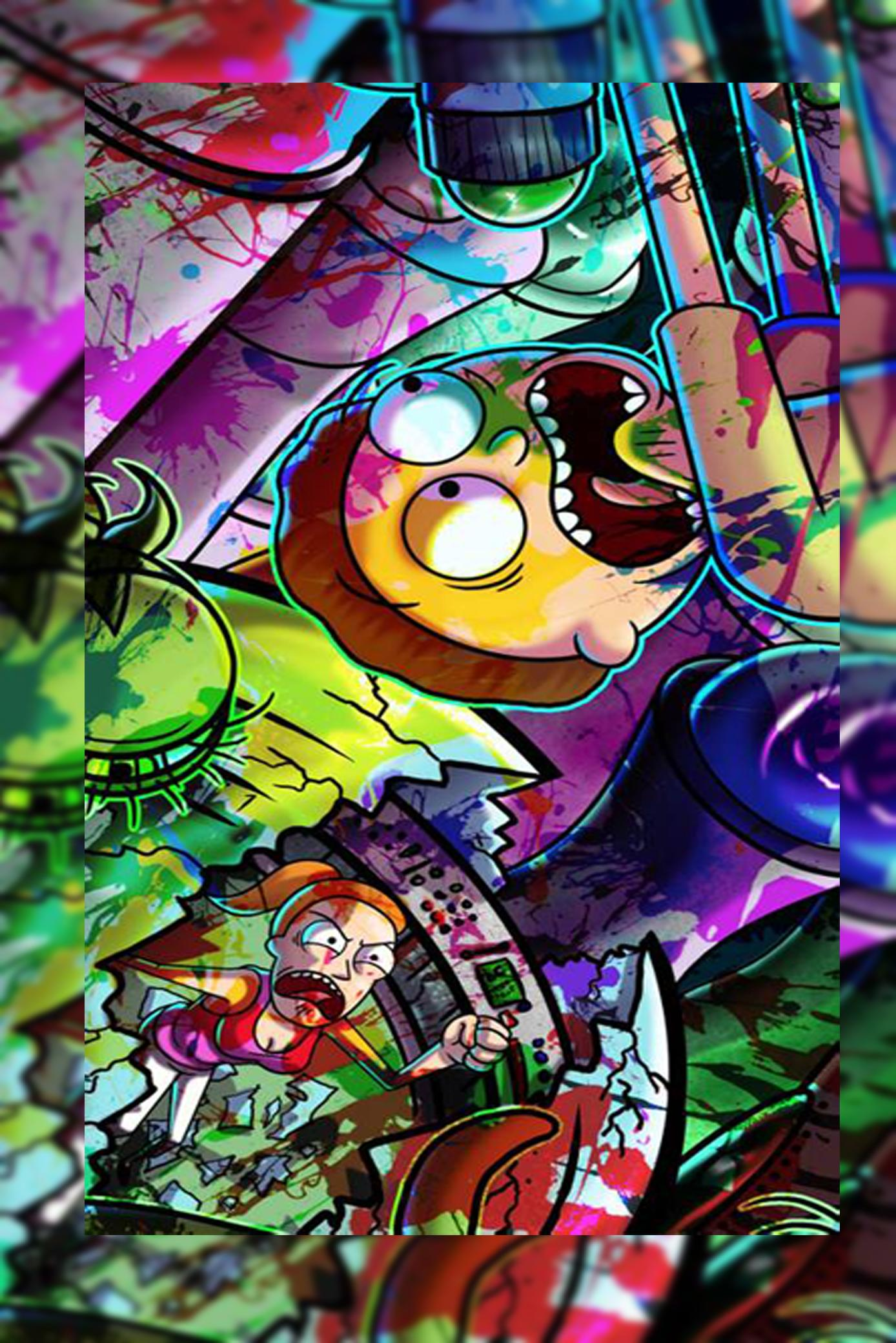Rick-Morty Wallpaper HD for Android - APK Download