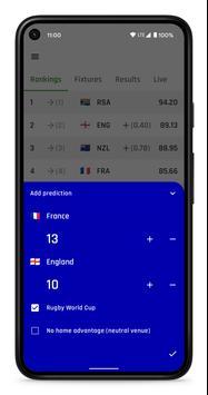 Rugby Ranker ảnh chụp màn hình 2
