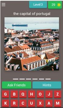 World Capitals Quiz screenshot 3