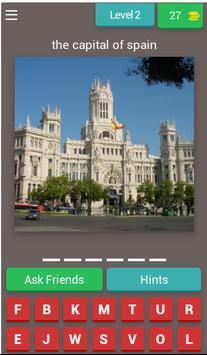 World Capitals Quiz screenshot 2