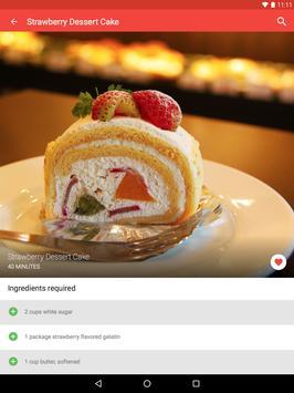 Cake Recipes screenshot 11
