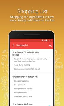 Crockpot 요리법 - 무료 crockpot 앱 스크린샷 6