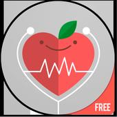 Glutenvrije recepten app: gezond dieetplan-icoon