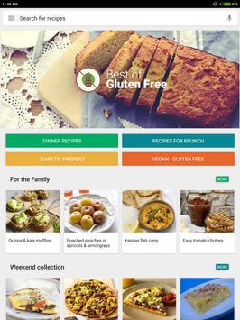 Glutenvrije recepten app: gezond dieetplan screenshot 12