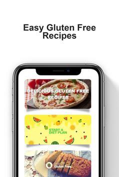 Glutenvrije recepten app: gezond dieetplan screenshot 1
