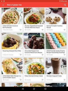 Glutenvrije recepten app: gezond dieetplan screenshot 9