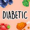 Diabetic Diet Recettes: recettes saines gratuites icône