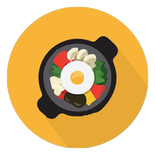 Korean recipe book offline icon