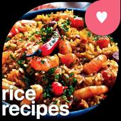 Recetas de arroz icono