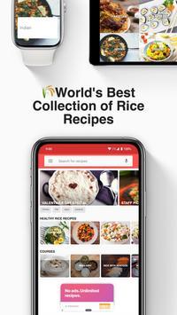 Recetas de arroz captura de pantalla 1