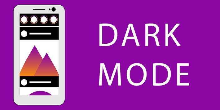 Dark Mode Theme for Instagram poster