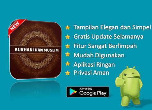Kitab Hadits Bukhari Muslim screenshot 2