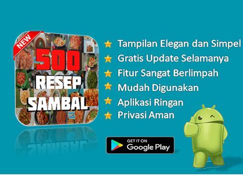 500 Resep Sambal screenshot 2
