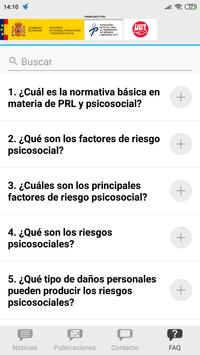 Gestión psicosocial sindical screenshot 3