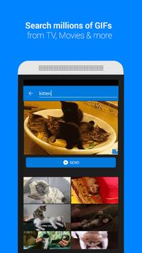 GIF Keyboard by Tenor скриншот 1