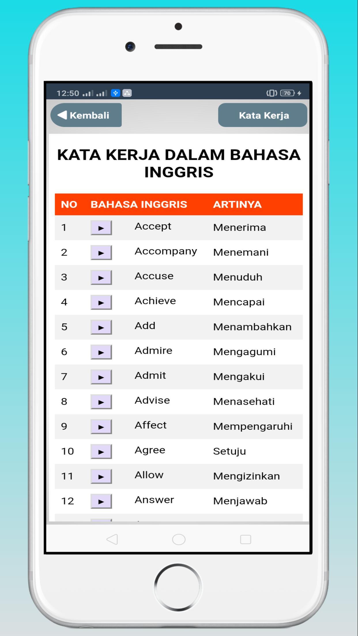 Kosakata Bahasa Inggris For Android Apk Download