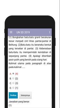 SOAL UN SD/MI 2019 TERBARU screenshot 5