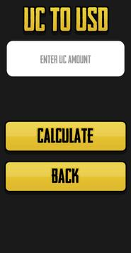 Free UC Calculator For PUBG Mobile screenshot 2