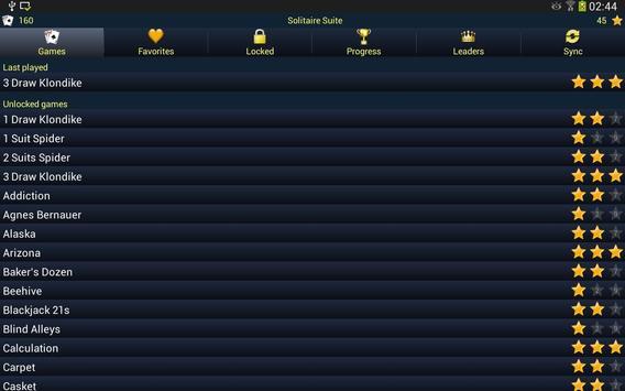 150+ Card Games Solitaire Pack screenshot 7