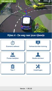 Rijles.nl Theorie auto B poster