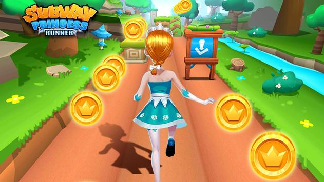 Subway Princess Runner скриншот 5