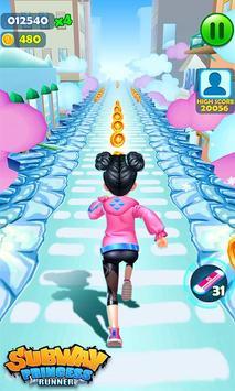 Subway Princess Runner screenshot 8