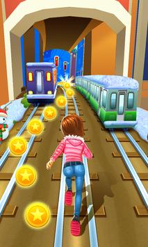 Subway Princess Runner poster
