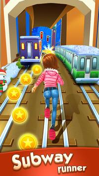 Subway Princess Runner постер