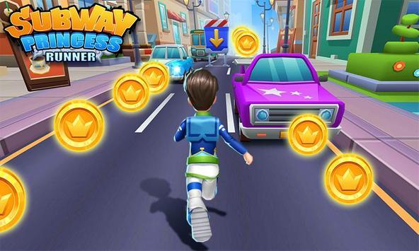 Subway Princess Runner screenshot 14