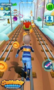 Subway Princess Runner screenshot 3