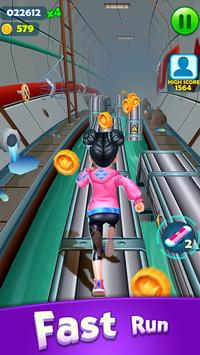Subway Princess Runner скриншот 3