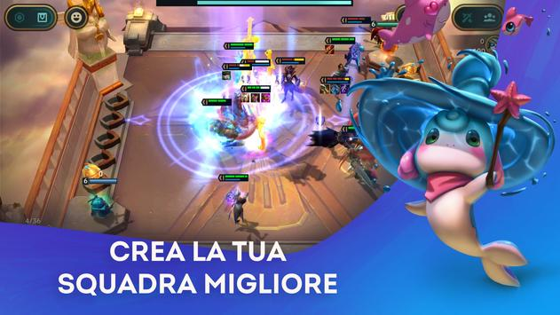 Poster Teamfight Tactics: il gioco strategico di LoL