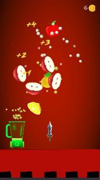 Fruit master ninja-knife ninja poster