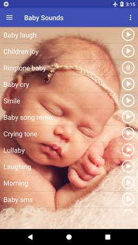 Funny Baby Ringtones Free poster