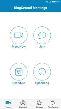 RingCentral Meetings Cartaz