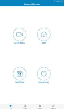 RingCentral Meetings imagem de tela 10