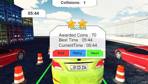 New Year Car Game screenshot 1