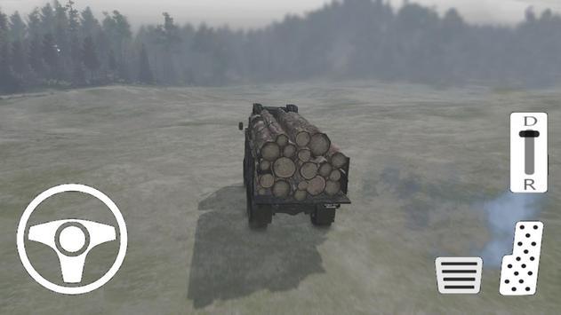 Truck Wood Factory - Truck Simulation screenshot 1