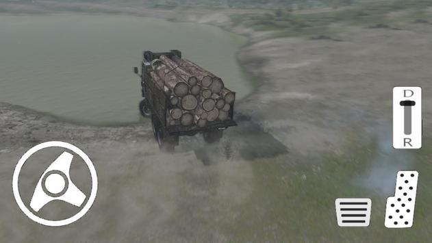 Truck Wood Factory - Truck Simulation screenshot 8