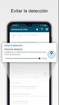 Asistente de clic - Clicker automático captura de pantalla 4
