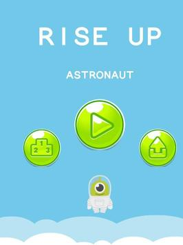 Rise it Up Astronaut 2019 poster