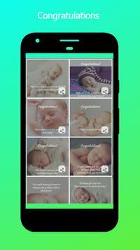 New Baby Wishes screenshot 3