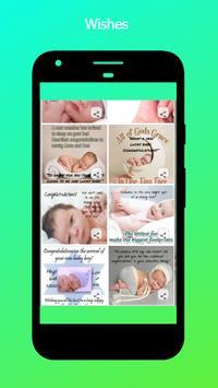 New Baby Wishes screenshot 2