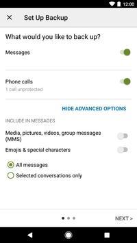 SMS Backup & Restore screenshot 2
