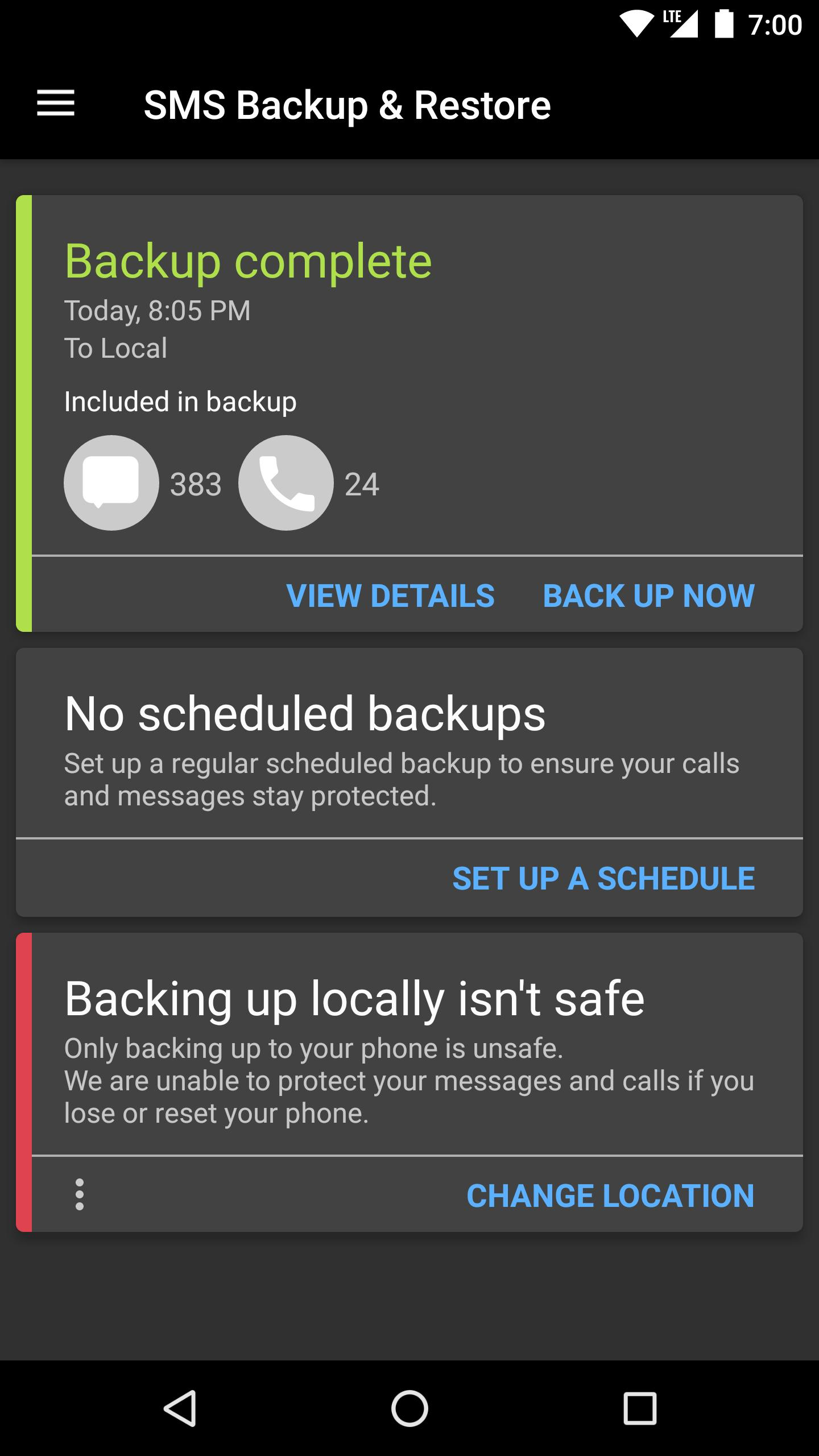 SMS Backup & Restore for Android - APK Download