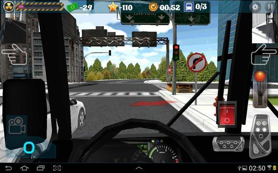 Город водитель автобуса скриншот 1