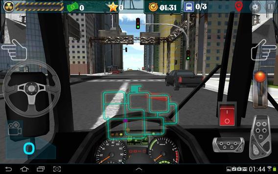 Город водитель автобуса скриншот 2