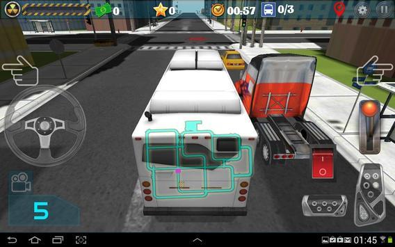 Город водитель автобуса скриншот 3