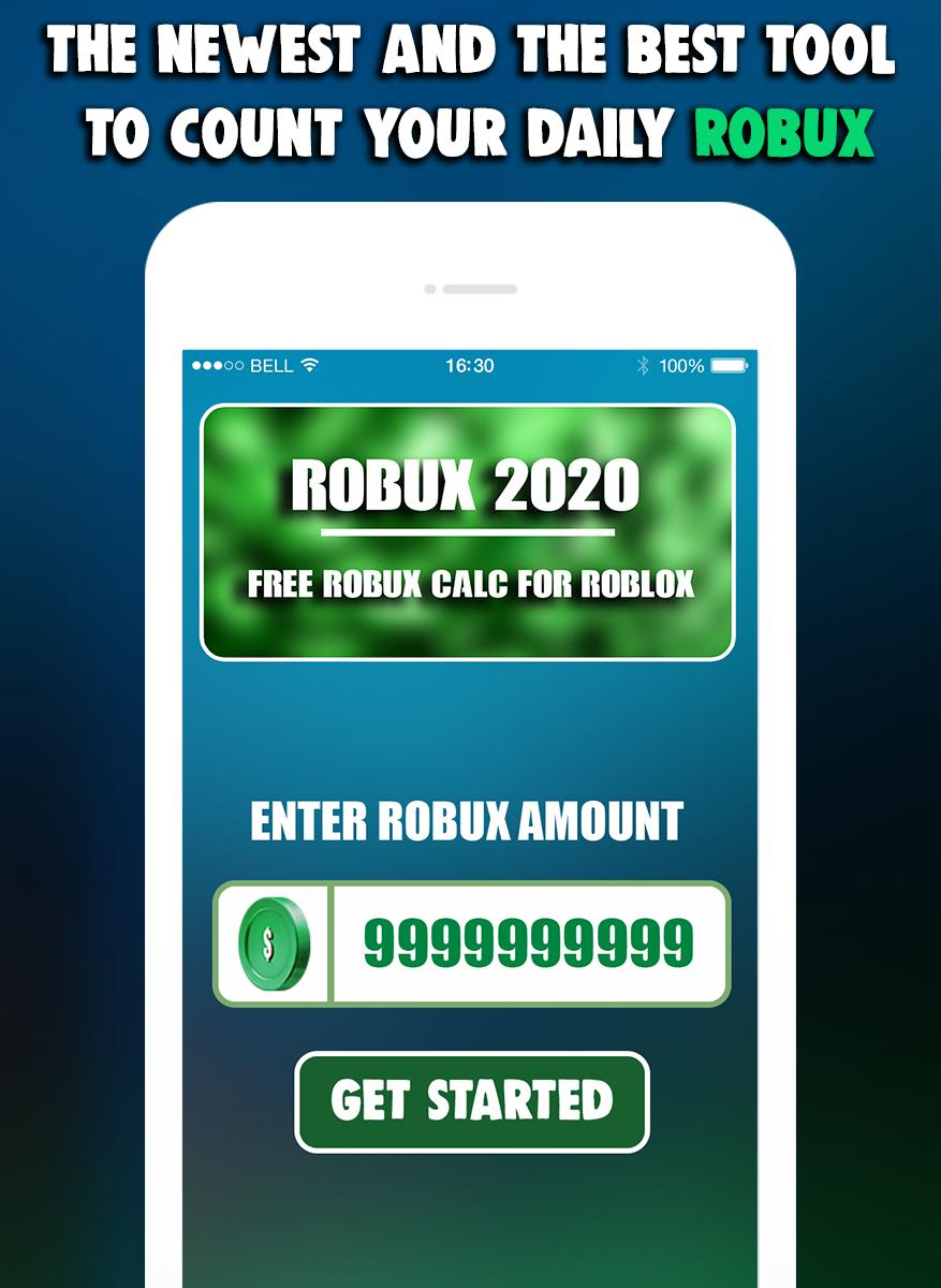 Robux Game Free Robux Wheel Calc For Robloxs For Android Apk Download